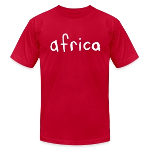 Africa - Men's T-Shirt by American Apparel