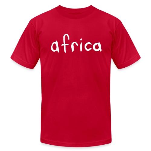 Africa - Men's  Jersey T-Shirt