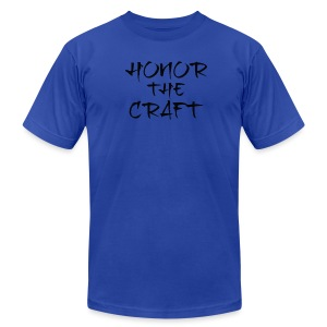 Premium T-Shirt Honor The Craft Logo - Men's T-Shirt by American Apparel