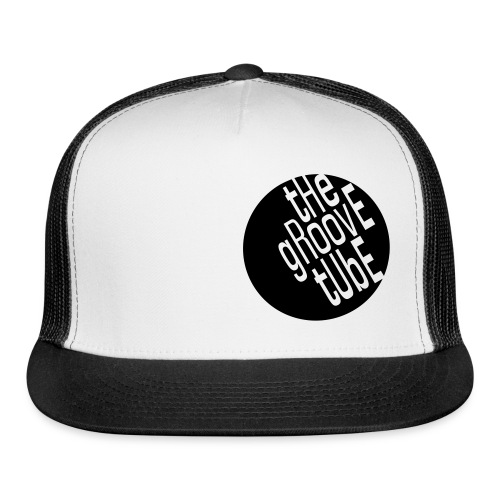 The Groove Tube FOAMY Trucker hat  black on white - Trucker Cap