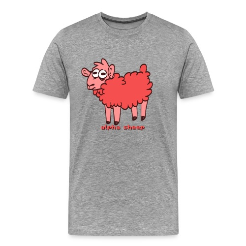 Alpha Sheep - Men's Premium T-Shirt