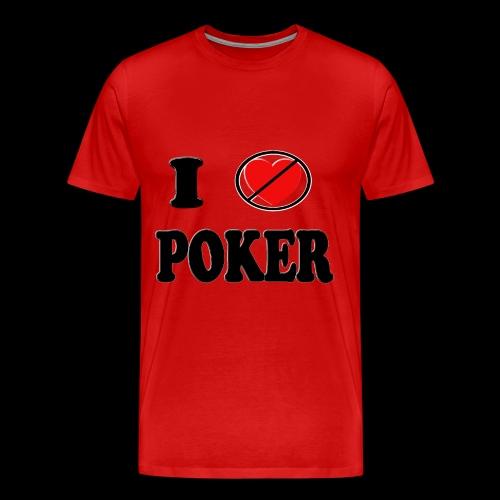 I unheart poker mens - Men's Premium T-Shirt
