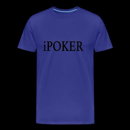 iPOKER mens shirt - Men's Premium T-Shirt