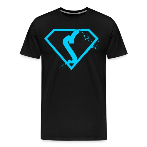 super spraypainter Blue - Men's Premium T-Shirt