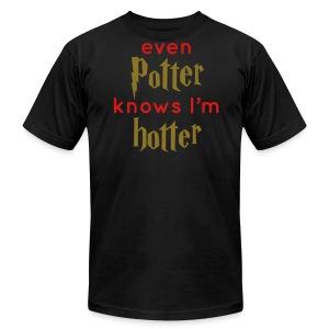 Even Potter Knows I'm Hotter Men's Shirt - Men's Fine Jersey T-Shirt