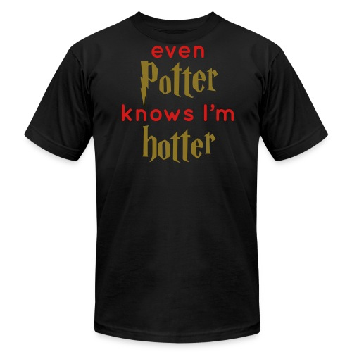 Even Potter Knows I'm Hotter Men's Shirt - Men's Fine Jersey T-Shirt