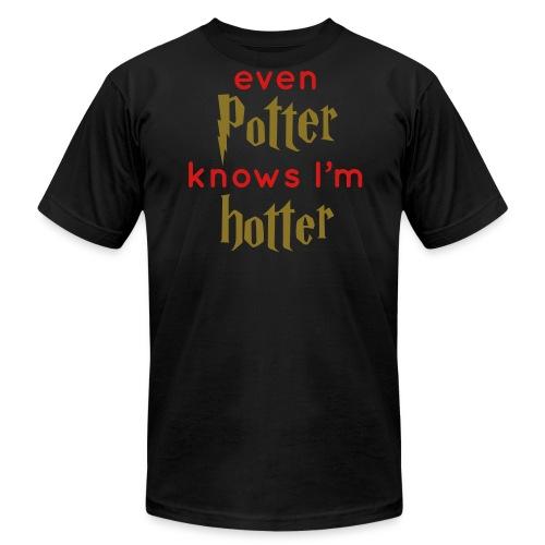 Even Potter Knows I'm Hotter Men's Shirt - Men's  Jersey T-Shirt
