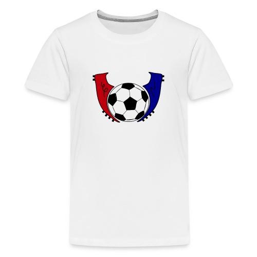 I Live Futbol Logo Kid's Premium T-Shirt - Kids' Premium T-Shirt