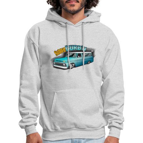 Subb'd Burb'n PREMIUM ART Hooded Sweatshirt - Men's Hoodie