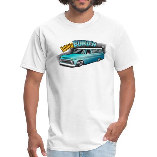 Subb'd Burb'n PREMIUM ART Tee - Men's T-Shirt