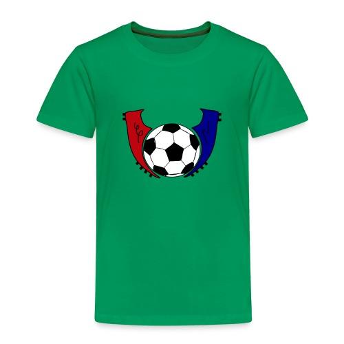 I Live Futbol Logo Toddler Premium T-Shirt - Toddler Premium T-Shirt
