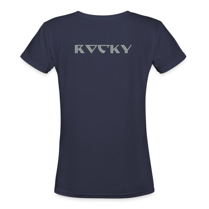 Astro (Rocky) - Women's V-Neck T-Shirt
