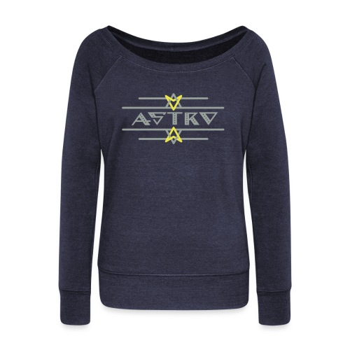 Astro  - Women's Wideneck Sweatshirt
