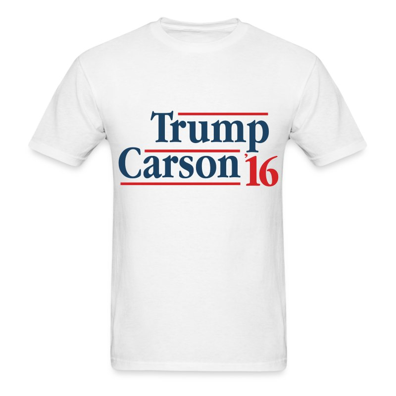 Trump Carson 2016 T-Shirts - Men's T-Shirt