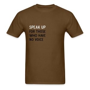 Speak Up - Men's T-Shirt