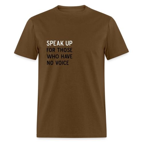 Speak Up - Men's T-Shirt