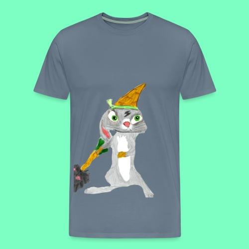 StrikerHero Camo Bunny Men's Shirt  - Men's Premium T-Shirt