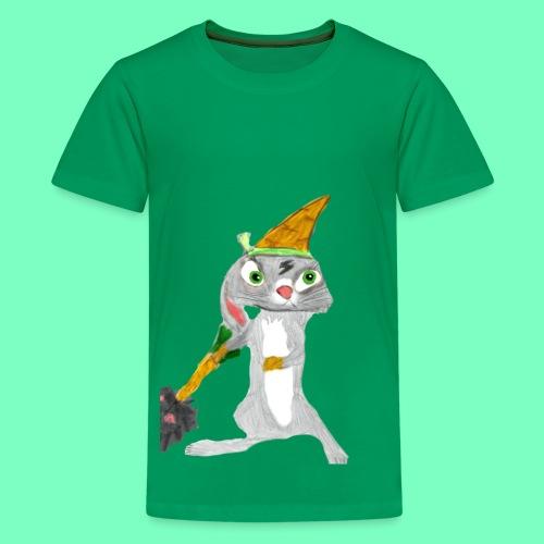 StrikerHero Camo Bunny Kids's Shirt - Kids' Premium T-Shirt