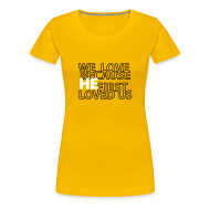 T-Shirts ~ Women's Premium T-Shirt ~ He loves
