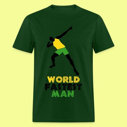 World Fastest Man - Men's T-Shirt