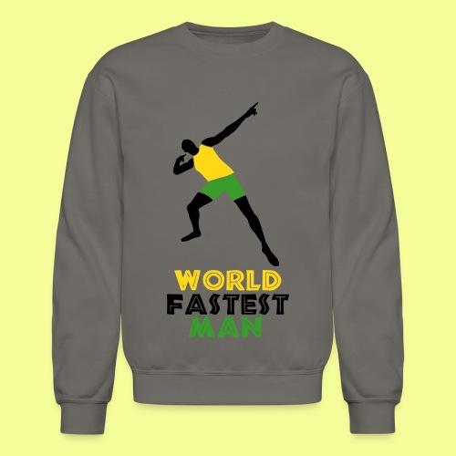 World Fastest Man - Crewneck Sweatshirt