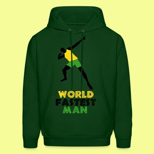 World Fastest Man - Men's Hoodie