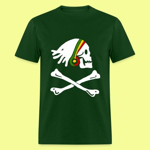 Rasta Pirate - Men's T-Shirt