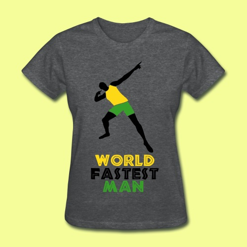 World Fastest Man - Women's T-Shirt