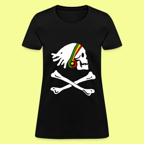 Rasta Pirate - Women's T-Shirt