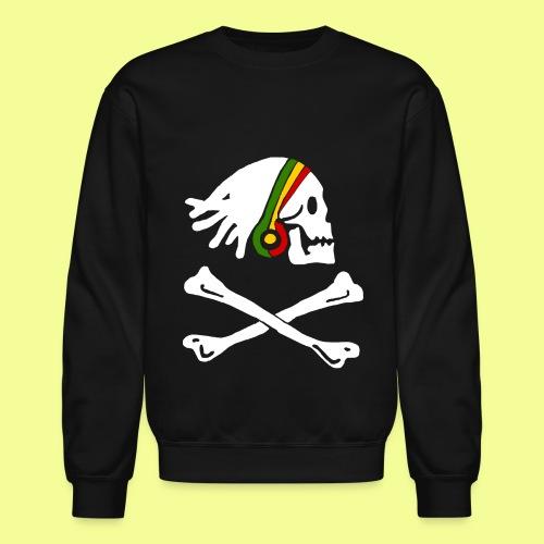 Rasta Pirate - Crewneck Sweatshirt