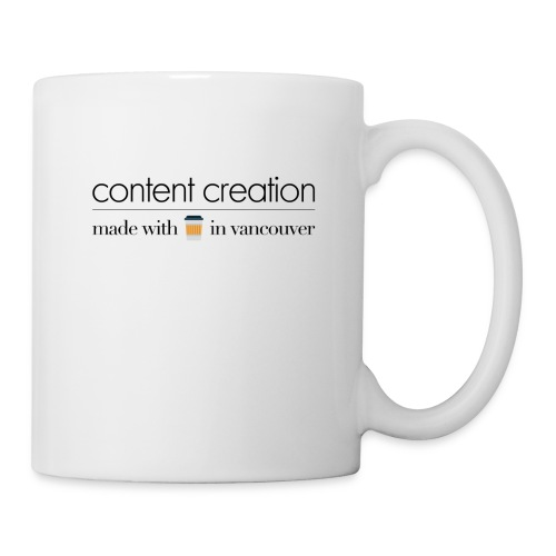 content creation - Coffee/Tea Mug