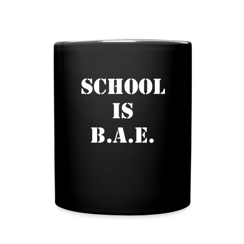 School is BAE coffee mug - Full Color Mug