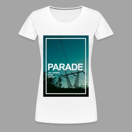 PARADE - God Vignesh - Women's Premium T-Shirt