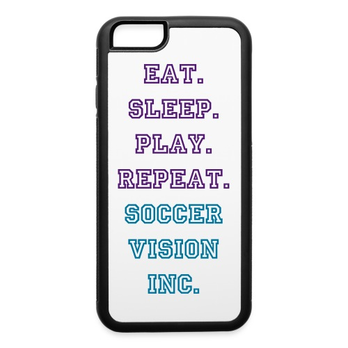 Eat Sleep Play repeat - iPhone 6/6s Rubber Case
