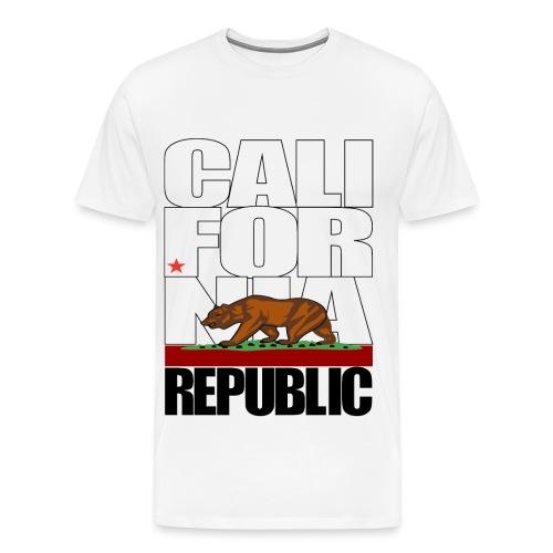 California Republic Tee v2 - Men's Premium T-Shirt