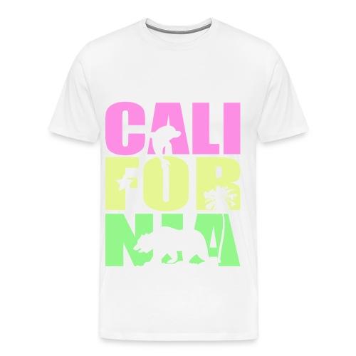California Republic Tee v1 - Men's Premium T-Shirt