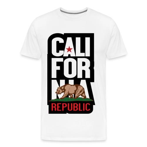 California Republic Tee v5 - Men's Premium T-Shirt