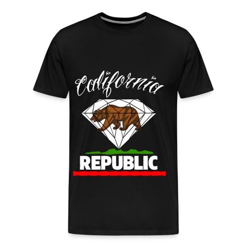 California Republic Tee v4 - Men's Premium T-Shirt