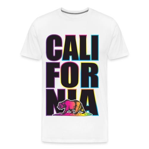 California Republic Tee v8 - Men's Premium T-Shirt