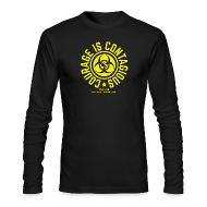 Long Sleeve Shirts ~ Men's Long Sleeve T-Shirt by Next Level ~ Courage is Contagious