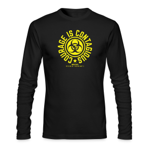 Courage is Contagious - Men's Long Sleeve T-Shirt by Next Level