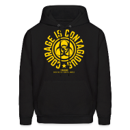 Hoodies ~ Men's Hoodie ~ Courage is Contagious