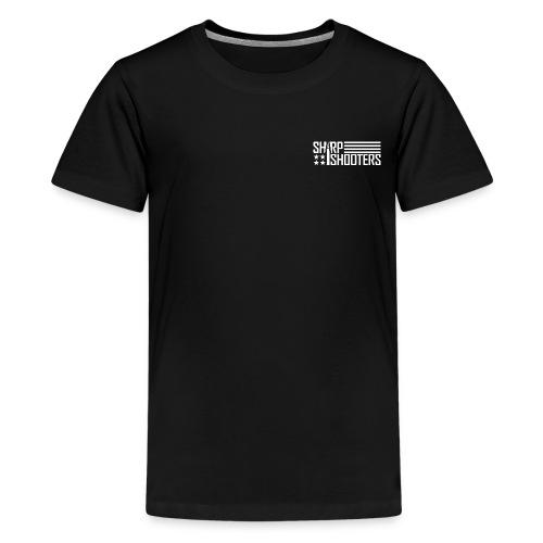 Sharp Shooters Black T-Shirt Kid's - Kids' Premium T-Shirt
