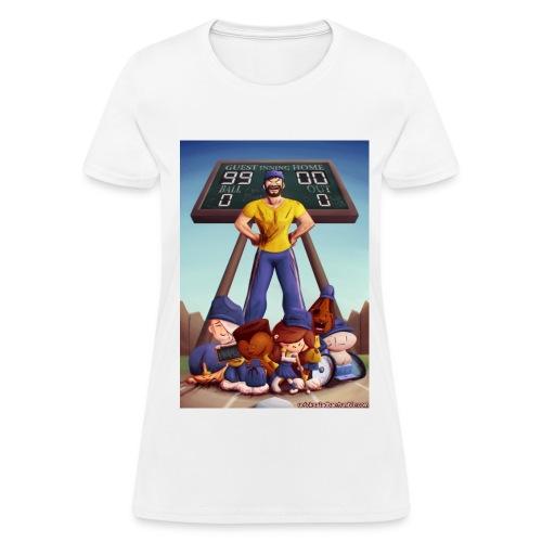 Baseball (Women's White) - Women's T-Shirt