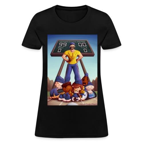 Baseball (Women's Black) - Women's T-Shirt