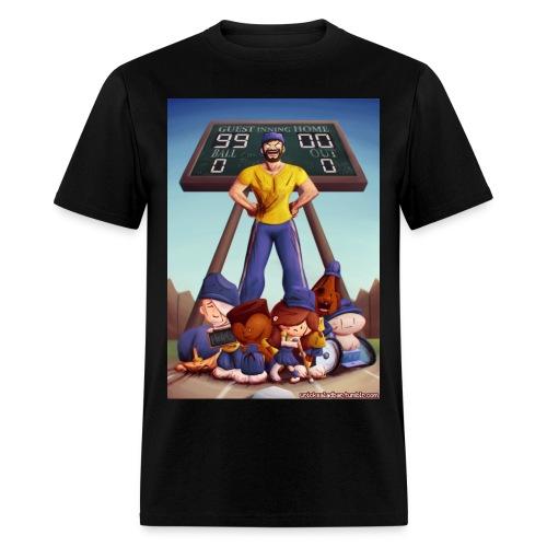 Baseball (Black) - Men's T-Shirt