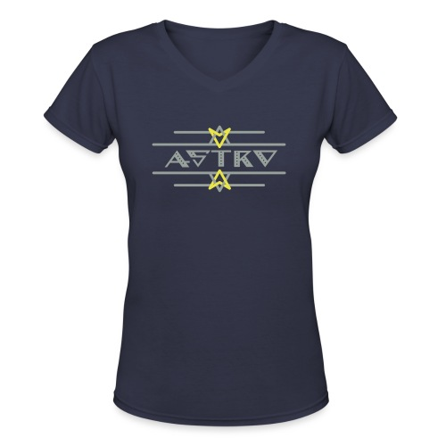 Astro  - Women's V-Neck T-Shirt