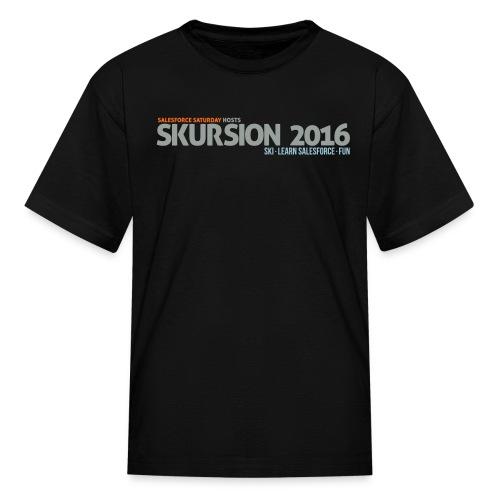 Tshirt - Black - Kids' T-Shirt
