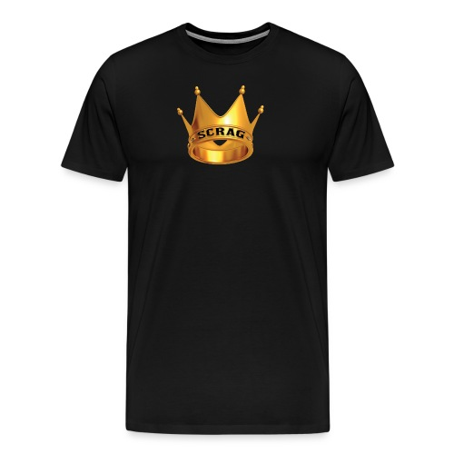 Black Tee Scrag - Men's Premium T-Shirt