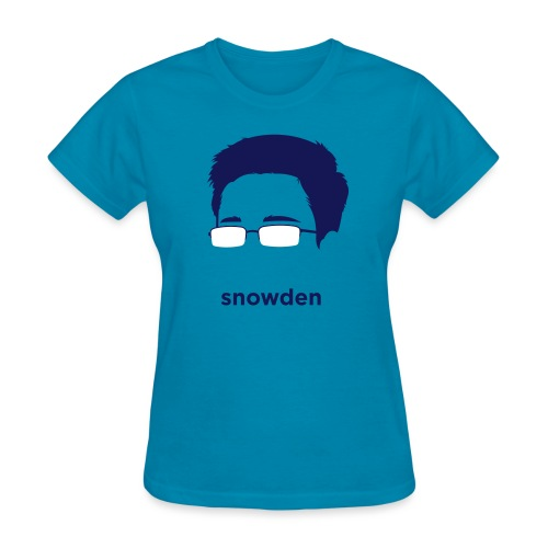 [edward-snowden] - Women's T-Shirt